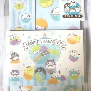 Sanrio characters MINI letter set